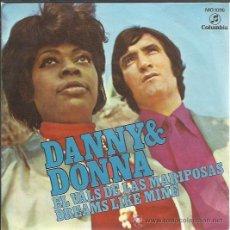 Discos de vinilo: DANNY & DONNA - EL VALS DE LAS MARIPOSAS / DREAMS LIKE MINE - SINGLE COLUMBIA 1971. Lote 40102672