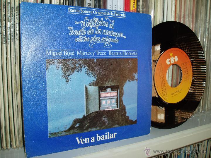 MIGUEL BOSE MARTES Y TRECE BSO SENTADOS AL BORDE DE LA MAÑANA ... 1979 SPAIN (Música - Discos - Singles Vinilo - Bandas Sonoras y Actores)