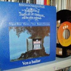 Discos de vinilo: MIGUEL BOSE MARTES Y TRECE BSO SENTADOS AL BORDE DE LA MAÑANA ... 1979 SPAIN. Lote 40109915