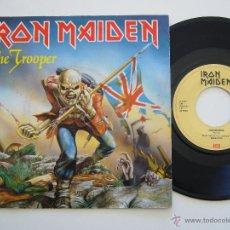Discos de vinilo: IRON MAIDEN. SINGLE. THE TROOPER. EDICIÓN HOLANDESA. Lote 40119878