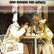 Discos de vinilo: LUCIO BATTISTI LP 33 UNA DONNA PER AMICO CARPETA DOBLE PORTADA.NUMERO 1 RCDS, 1978. Lote 40126894