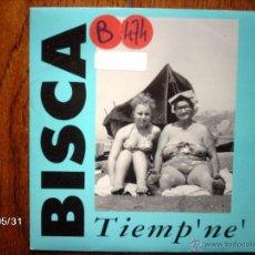 Discos de vinilo: BISCA - TIEMP´NE´ + TIEMP´ NE´ (RADIO -EDIT ) . Lote 40178283