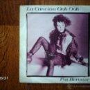 Discos de vinilo: PAT BENATAR - LA CANCIÓN OOH OOH (EN ESPAÑOL) + OOH OOH SONG . Lote 40201137
