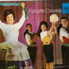 Discos de vinilo: LP MARY SANCHEZ Y LOS BANDAMA : FOLKLORE CANARIO ( CANARIAS FOLK ). Lote 40141273