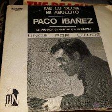 Discos de vinilo: PACO IBAÑEZ- ME LO DECIA MI ABUELITO. Lote 40146788
