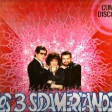 Discos de vinilo: MINI LP LOS TRES SUDAMERICANOS . CUMBIA DISCO . Lote 40150817