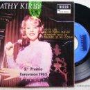 Discos de vinilo: KATHY KIRBY.....YO TE AME + 3. Lote 40151229