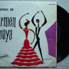 Discos de vinilo: CARMEN AMAYA....EL RITMO DE CARMEN AMAYA. Lote 40151306