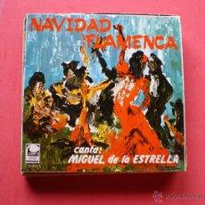 Discos de vinilo: NAVIDAD FLAMENCA / CANTA MIGUEL DE LA ESTRELLA EP 4 CORTES. Lote 40156220