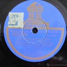 Discos de vinilo: JESUS PEROSANZ - FANDANGUILLOS - DISCO PIZARRA 78 RPM. Lote 40156073