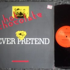 Discos de vinilo: HOT CHOCOLATE. NEVER PRETEND. MAXI POLYDOR 1988. GERMANY. FUNK. SOUL. POP. ELECTRONIC. Lote 40160039