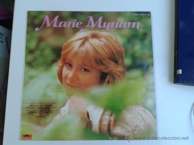 MARIE MYRIAM - EUROVISION 77 CANTA EN ESPAÑOL 1977 LP POLYDOR RARO (Música - Discos - LP Vinilo - Festival de Eurovisión)