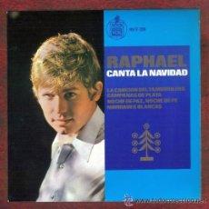 Discos de vinilo: EP RAPHAEL CANTA A LA NAVIDAD. HISPAVOX. AÑO 1965.. Lote 40160726