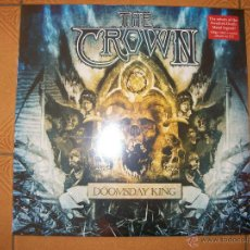 Discos de vinilo: LP THE CROWN - DOOMSDAY KING (LTD. LP + CD) - PRECINTADO - DEATH METAL. Lote 40161145