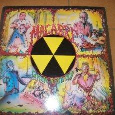Discos de vinilo: LP - MACABRE - GRIM REALITY - DEATH METAL - VYNIL SOLUTION 1987. Lote 40161265