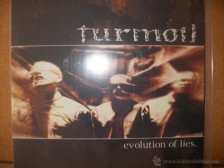 7 INCH VINYL TURMOIL - EVOLUTION OF LIES (Música - Discos de Vinilo - EPs - Heavy - Metal)