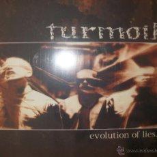 Discos de vinilo: 7 INCH VINYL TURMOIL - EVOLUTION OF LIES. Lote 40161361