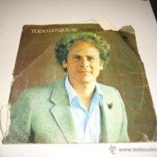 Discos de vinilo: GARFUNKEL TODO LO QUE SE. Lote 40164339