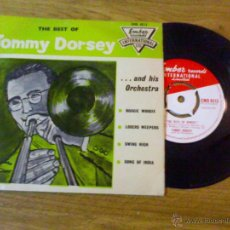 Discos de vinilo: TOMMY DORSEY AND HIS ORCHESTRA. BOOGIE WOOGIE. LOSERS WEEPERS. SWING HIGH.SONG OF INDIA.. Lote 40177823
