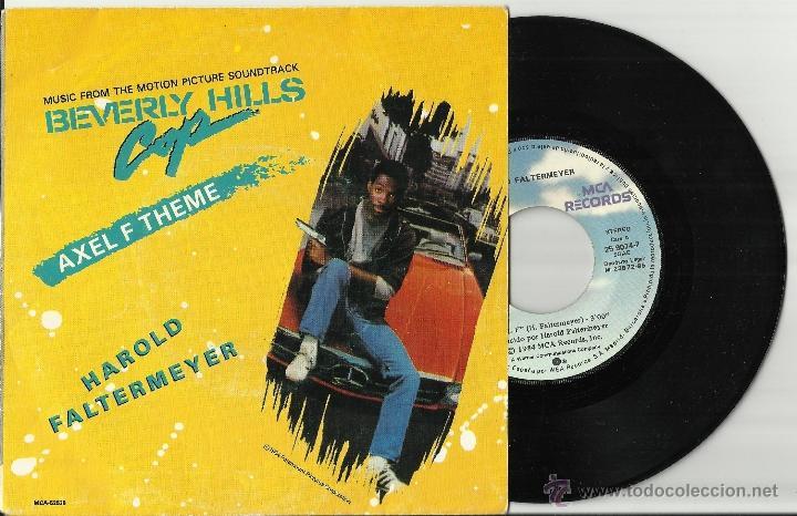HAROLD FALTERMEYER SINGLE AXEL F ESPAÑA 1985 (Música - Discos - Singles Vinilo - Bandas Sonoras y Actores)