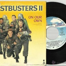 Discos de vinilo: BOBBY BROWN SINGLE PROMO ON OUR OWN GHOSTBUSTERS II ESPAÑA 1989. Lote 40173883