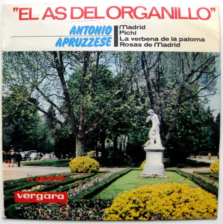 ANTONIO APRUZZESE - MADRID +3 - EP VERGARA 1964 BPY (Música - Discos de Vinilo - EPs - Country y Folk)