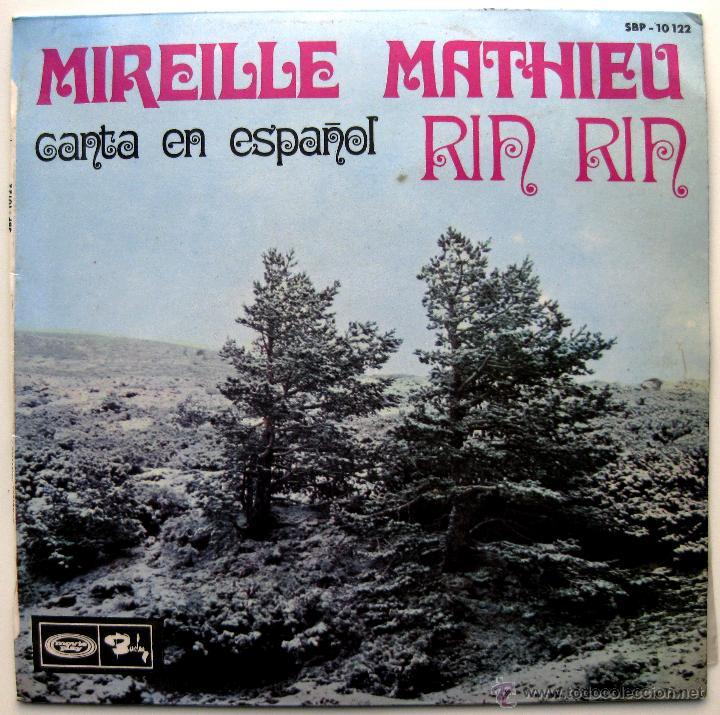 MIREILLE MATHIEU - CANTA EN ESPAÑOL - RIN RIN +3 - EP BARCLAY 1968 BPY (Música - Discos de Vinilo - EPs - Canción Francesa e Italiana)