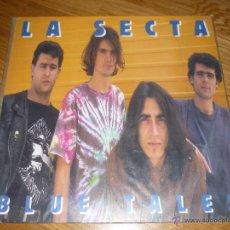 Discos de vinilo: LA SECTA, BLUE TALES, MUNSTER RECORDS, CRUJIENTE ROCK CONEXIÓN EUSKADI-MADRID. Lote 40174989