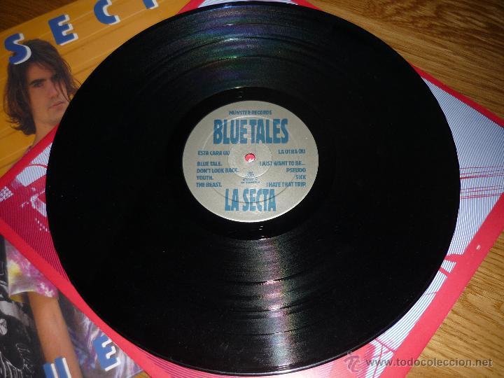 Discos de vinilo: LA SECTA, blue tales, MUNSTER RECORDS, crujiente rock conexión Euskadi-Madrid - Foto 2 - 40174989