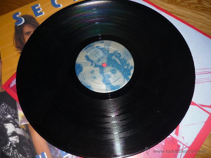 Discos de vinilo: LA SECTA, blue tales, MUNSTER RECORDS, crujiente rock conexión Euskadi-Madrid - Foto 3 - 40174989