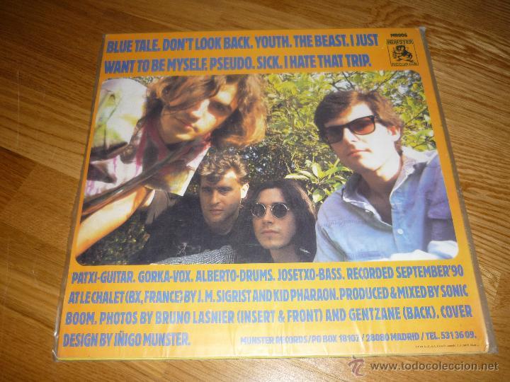 Discos de vinilo: LA SECTA, blue tales, MUNSTER RECORDS, crujiente rock conexión Euskadi-Madrid - Foto 4 - 40174989