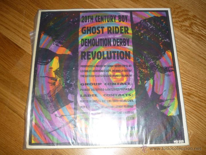 Discos de vinilo: LA SECTA OUR KICKS ULTRA RARE MAXI MUSTER RECORDS 1991 SPAIN ORIGINAL - SONIC BOOM - Foto 4 - 40175163