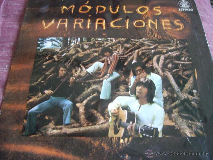 MODULOS-VARIACIONES-EDICION ORIGINAL 1971-POKORA (Música - Discos - LP Vinilo - Grupos Españoles de los 70 y 80)