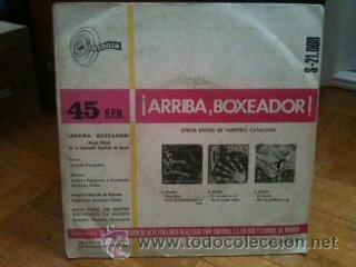 Discos de vinilo: Arriba boxeador - single - Himno oficial de la federacion española de boxeo (Sintonia 1968) - Foto 2 - 40175995