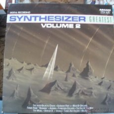 Dischi in vinile: SYNTHESIZER GREATEST, VOLUME 2 . Lote 40186763