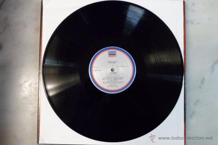 Discos de vinilo: IL TROVATORE. VERDI. PAVAROTTI. BONYNGE. SELLO DECCA ESTUCHE 3 LP´S - Foto 3 - 40453521