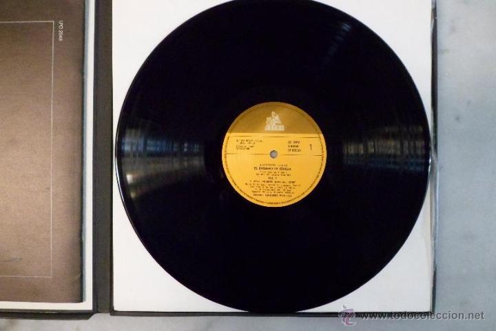 Discos de vinilo: ESTUCHE 3 LP´S IL BARBIERE DI SIVIGLIA. EL BARBERO DE SEVILLA. ROSSINI. HISPAVOX 1981 - Foto 4 - 40453349