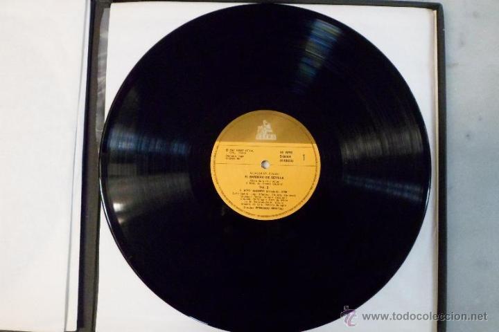 Discos de vinilo: ESTUCHE 3 LP´S IL BARBIERE DI SIVIGLIA. EL BARBERO DE SEVILLA. ROSSINI. HISPAVOX 1981 - Foto 6 - 40453349