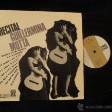 Discos de vinilo: GUILLERMINA MOTTA EP RECITAL 10 PULGADAS 1965 SETZE JUTGES. Lote 40188121