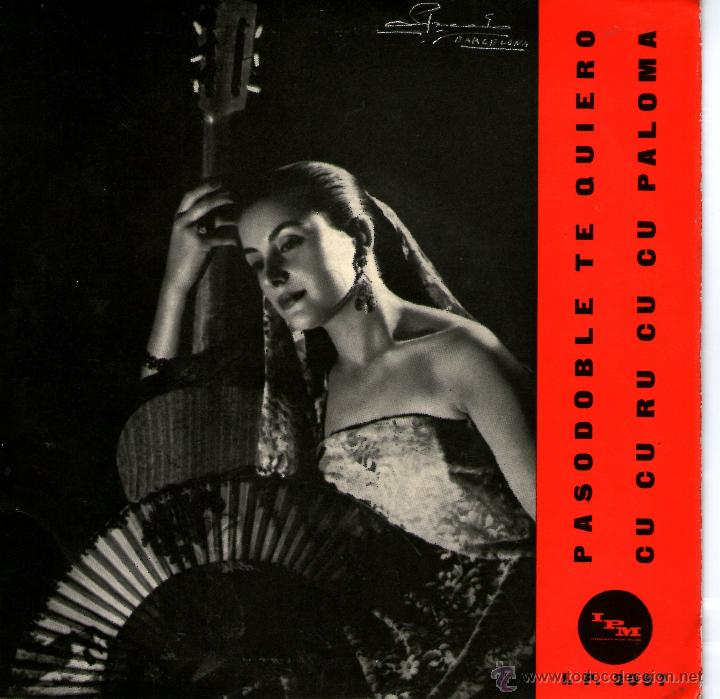 PASTORA MOLINA EDITADO EN ITALIA (Música - Discos - Singles Vinilo - Flamenco, Canción española y Cuplé)