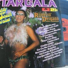 Discos de vinilo: ROBERTO DELGADO -DOBLE LP -BUEN ESTADO. Lote 40247315