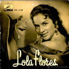 Discos de vinilo: LOLA FLORES OLE MI TORERO. Lote 40238708