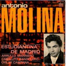 Discos de vinilo: ANTONIO MOLINA. Lote 40240661