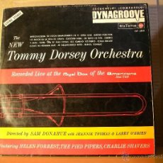 Discos de vinilo: THE NEW TOMMY DORSEY ORCHESTRA - LIVE AT THE ROYAL BOX OF THE AMERICANA DE NEW YORK - RCA LSP-2830. Lote 40208217
