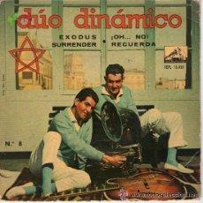 Discos de vinilo: SINGLE DUO DINAMICO EXODUS SURRENDER OH NO RECUERDA EP 1961 . Lote 40210257