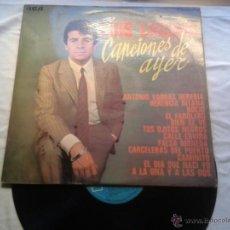 Discos de vinilo: LUIS LUCENA - CANCIONES DE AYER - 1969. Lote 40210720
