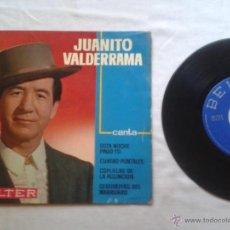 Dischi in vinile: JUANITO VALDERRAMA - ESTA NOCHE PAGO YO - AÑO 1963 - FIRMADO POR JUANITO VALDERRAMA. Lote 40212926