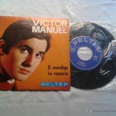 Discos de vinilo: VICTOR MANUEL - EL MENDIGO - 1969. Lote 40215214