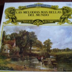 Discos de vinilo: LAS MELODIAS MAS BELLAS DEL MUNDO (1.976) SELECCIONES DEL READER´S DIGEST.. Lote 40233838