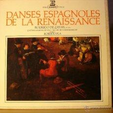 Discos de vinilo: DANSES ESPAGNOLES DE LA RENAISSANCE - ERATO 71065/66 - 1977 - EDICION FRANCESA 2XLP BOX. Lote 40249868